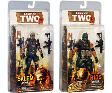 Neca ARMY OF TWO 40th day set of 2 SALEM & RIOS Player Select Action Figures NEW