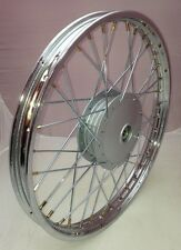 Honda C50 Cub Motorcycle 17 x 1.40 Chrome Front Wheel (see description)