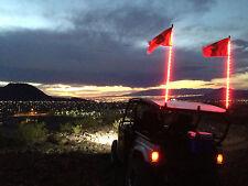 2- 4 ft. Xtreme LED lighted whip, (Pair)