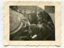Photo, Wehrmacht, population on the Field Kitchen in Poznan, DT. runs, Poland, 0505