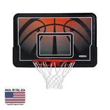 New listing Lifetime 90703 44 inch Impact Backboard and Rim Basketball Combo