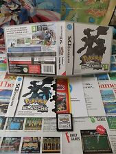 Nintendo DS:Pokémon Version Blanche [TOP RPG & 1ERE EDITION] COMPLET - Fr