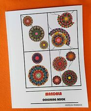 Mandala coloring book-libro da colorare 100 tavole mandala-antistres- relax