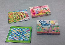Dollhouse Miniature 2 Kids Game Box & Boards, Candy Land, Chutes & Ladders 1:12