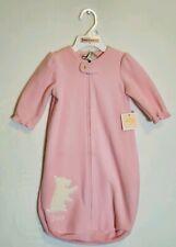 Juicy Couture Baby Girl Blanket Sleeper Bag Pink & White Sleep Sack One Size NEW