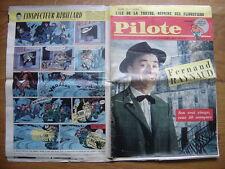 1961 PILOTE 63 pilotorama L'ILE DE LA TORTUE Fernand Raynaud