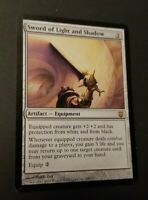 1x Sword of Light and Shadow, Darksteel, EDH Commander Equipment Protection
