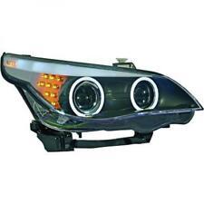 LHD Phares Projecteur Paire Angel Eyes Transparent Noir D2S H7 pour Bmw E60 61