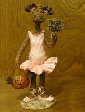 Boyds Moose Troop #36907 Ilona Mooseltoes...Trick or Treat, 2nd Ed NIB Halloween