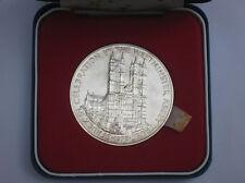 Cased Sterling Silver Commemorative Medallion HRH Queen Elizabeth II.