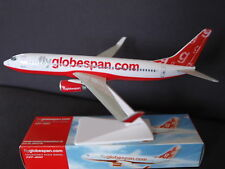 Globespan Boeing B737-800  Premier Portfolio Push Fit Model 1:200 - SM737-96