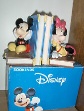 """sculpture Mickey &  Minie Mouse  """" Boekensteunen """""""