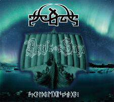 SCALD Agyl's Saga digi2CD+patch russian epic doom Candlemass Bathory Manowar