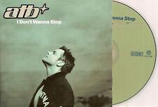 ATB - i don't wanna stop (MOLELLA REMIX) CD SINGLE 5TR CARD DIGIDANCE Holland