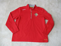 Reebok Florida Panthers Jacket Adult Extra Large NHL Hockey Red Coat Mens *