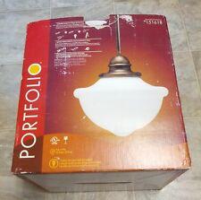Portfolio Lighting 1-Light Mini Pendant 151618