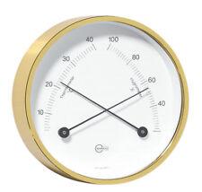 Thermo Hygrometer BARIGO Home Brass Hanging/Posts 85mm