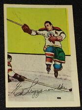 1952-1953 - PARKHURST - TED KRYZANOWSKI - CHICAGO BLACKHAWKS NHL HOCKEY CARD #29
