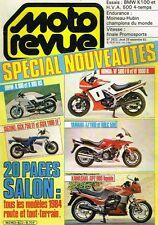 B4- Moto Revue N°2622 Suzuki GSX 750 EF et GSX 1100 EF, BMW K100 et K 100 RS