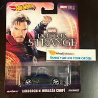 Lamborghini Huracan Coupe Doctor Strange * 2019 Hot Wheels Retro Case M