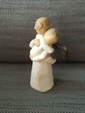 WILLOW TREE ANGELS EMBRACE FIGURINE - MOTHER & CHILD