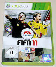 FIFA 11 - FÜR XBOX 360 - EA SPORTS FUSSBALL FOOTBALL SOCCER BUNDESLIGA 2011