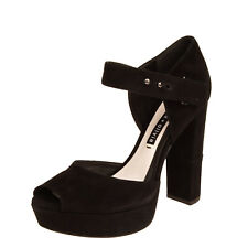 RRP €345 ALICE + OLIVIA Suede Leather D'Orsay Shoes Size 39 UK 6 US 9 Heel