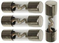 Lot de 4 fusibles AGU 60A pour sono auto voiture ampli sub