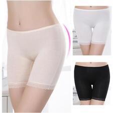 Women Lady Safety Lace Under Shorts Pants Soft Leggings Seamless Bamboo Fiber B