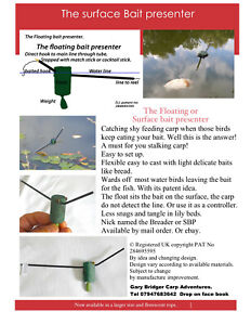 Carp float, fishing Floating, bait presenter, surface fishing, controller, carp.