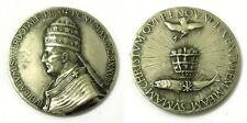 Medaglia Iubilaeum Sacerdotale Pii XI Pont. Max. 1929 Metallo Argentato