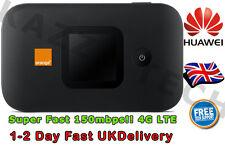 HUAWEI E5577C UNLOCKED BLACK LTE 4G & 3G Mobile MIFI WIFI Wireless Modem SimFree