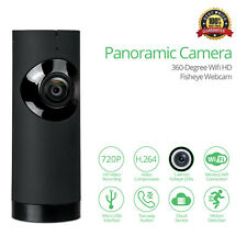 720P HD WiFi PTZ IP CCTV Security Camera Indoor IR Night Vision Monitor Fish Eye