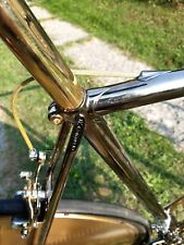 Italian steel frame Black&Gold Vintage ex Eroica size 58