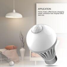E27 5W LED Home Infrared Motion Sensor Pir Bulb Garden Light Stair Lamp Warm YL