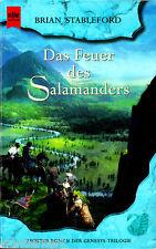 "Brian Stableford - "" Genesys-Trilogie 2 - Das Feuer des SALAMANDERS "" (2001)  tb"