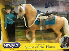 Breyer Model Horses Western Horse and Rider for 2018 Palomino Friesian