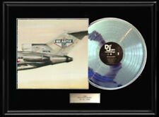 Beastie Boys Licensed To Ill Rare White Gold Silver Platinum Tone Record Lp Rare