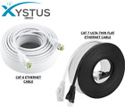 CAT6 RJ45 CAT7 Ethernet Network HighSpeed LAN Patch Cable 1M-50M Wholesale WHITE
