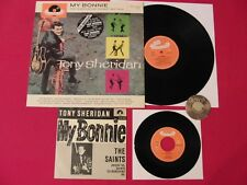 "LP + 7"" Single TONY SHERIDAN My Bonnie 1986 Anniversary 25th   M-"