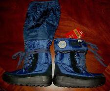 PAJAR Princess II Waterproof Mid Tall Fall Winter Blue Boots Womens 6 - 6.5