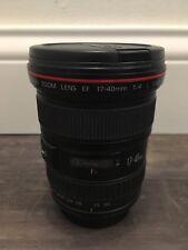 Canon EF 17-40mm f/4 L USM Lens FREE SHIPPING