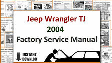 Jeep Wrangler TJ 2004 Service Manual Workshop Manual Repair Manual