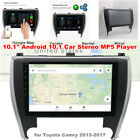 """10.1"""" Android 10.1 Car Stereo Radio GPS MP5 Player Fit For 2015-17 Toyota Camry"""