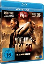 Night of the Living Dead-Re-Animation-3D Blu-ray + 2D Version-Neu & OVP