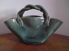 Arts & Crafts Peter Gardner Majolica Dunmore Pottery Quirky Twisted Bag