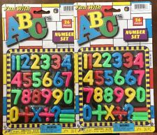 Ja-Ru Fun With ABC's Number Set - 26 Piece Set - Pack of 2 (52 Pieces Total)