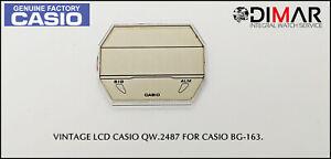 Ersatz Vintage Original LCD Display Casio QW-2487 NOS Für Casio BG-163