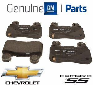 Heavy Duty Rear Brake Pad Set Genuine For Cadillac CTS STS Chevrolet Camaro SS
