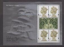 Gb Stamp Mini Sheet - Ms2147- Stamp Show 2000